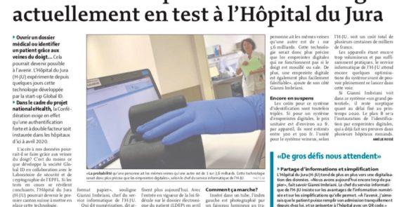 5d01203df8049e16ed6a74ee_[Revue de presse] – Le Quotidien Jurassien du 11 juin 2019