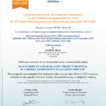 Sceau d'excellence pour Global ID